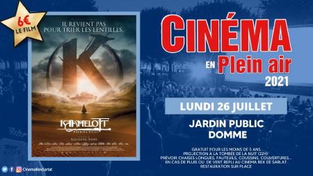 Plein Air: KAAMELOTT Premier volet // Lundi 26 Juillet