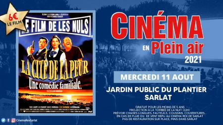 Plein Air: LA CITE DE LA PEUR // Mercredi 11 Août