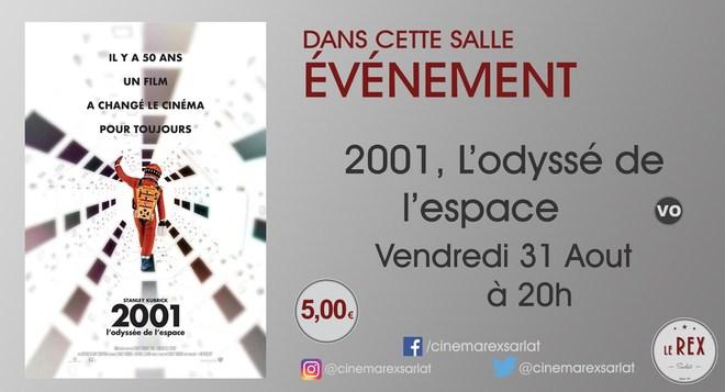 Ciné Classics / 2001, L'ODYSEE DE L'ESPACE le Vendredi 31 Aout à 20h