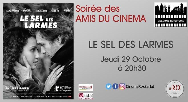soirée Amis du Cinéma: LE SEL DES LARMES // Jeudi 29 Octobre à 20h30