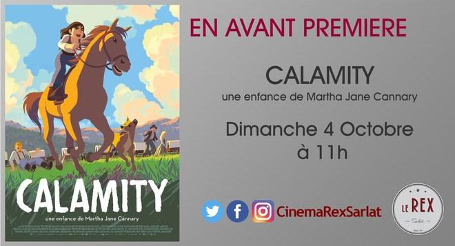 Avant Première CALAMITY // Dimanche 04 Octobre à 11h00