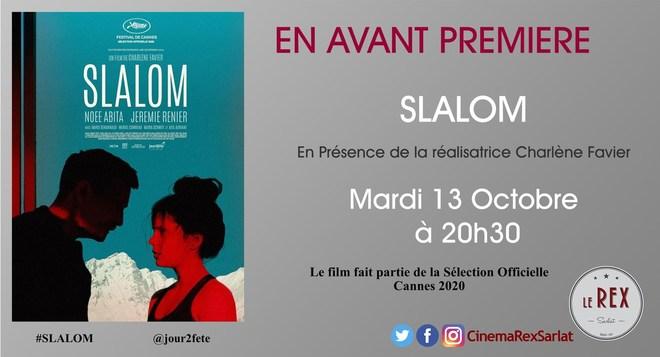 Avant Première SLALOM // Mardi 13 Octobre à 20h30