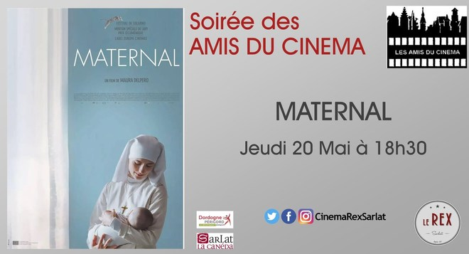 Soirée Amis du cinéma: MATERNAL// Jeudi 20 Mai à 18h30