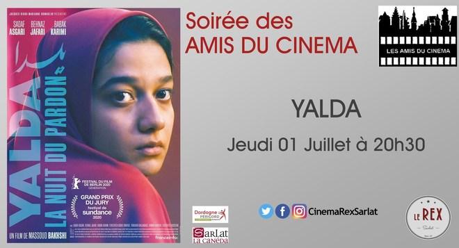 Soirée Amis du cinéma: YALDA, LA NUIT DU PARDON // Jeudi 01 Juillet à 20h30