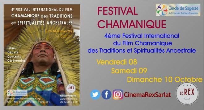 FESTIVAL  du FILM CHAMANIQUE // Vendredi 08, Samedi 09 et Dimanche 10 Octobre