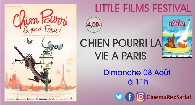 Little films Festival: CHIEN POURRI, LA VIE A PARIS // Dimanche 08 Août à 11h