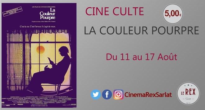 Ciné Culte: LA COULEUR POURPRE // A partir du 11 Août