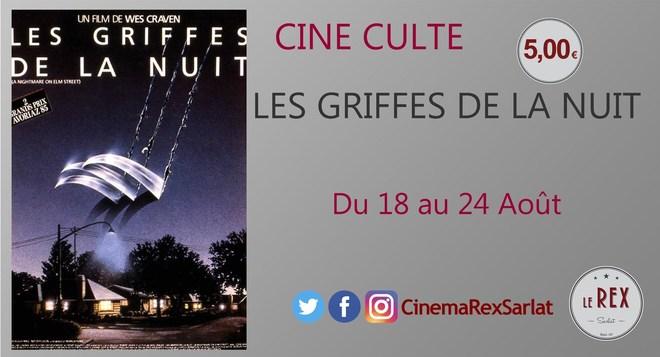Ciné Culte: LES GRIFFES DE LA NUIT // A partir du 18 Août