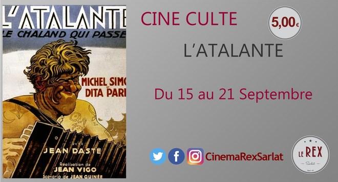 Ciné Culte: L'ATALANTE // A partir du 15 Septembre