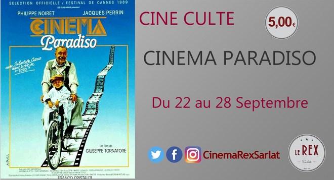 Ciné Culte: CINEMA PARADISO // A partir du 22 Septembre