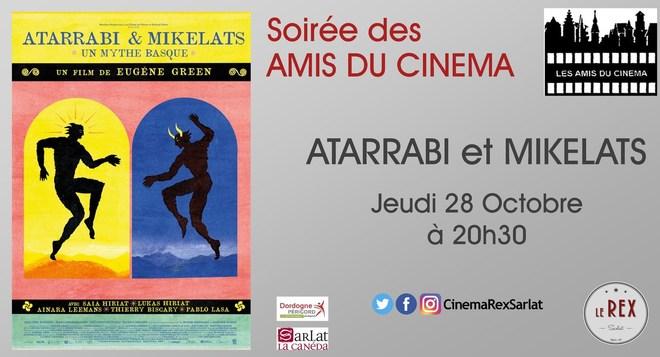 Soirée Amis du Cinéma: ATARRABI ET MIKELATS // Jeudi28 Octobre à 20h30