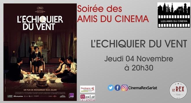 Soirée Amis du Cinéma: L'ECHIQUIER DU VENT // Jeudi 04 Novembre à 20h30