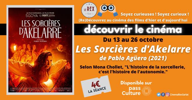 Découvrir le Cinéma: LES SORCIERES D'AKELARRE  // A partir du 13 Octobre