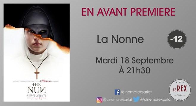 Avant Première LA NONNE // Mardi 18 Septembre à 21h30