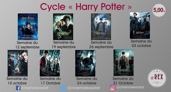 Ciné Culte ! Revoyez tous les HARRY POTTER sur grand écran !!