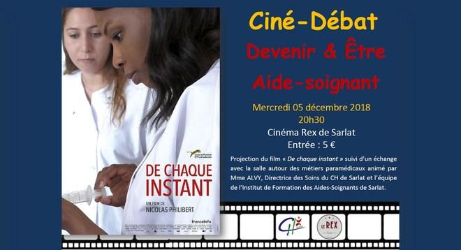 Ciné Débat: DEVENIR & ETRE AIDE-SOIGNANT // Mercredi 05 décembre à 20h30