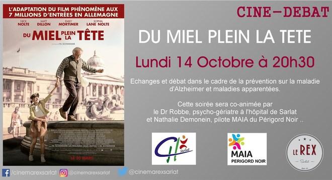 Ciné-débat: DU MIEL PLEIN LA TETE // Lundi 14 Octobre à 20h30