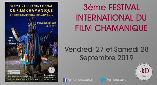 3ème FESTIVAL CHAMANIQUE // Vendredi 27 et Samedi 28 Septembre