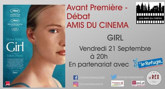 Avant Première GIRL // Vendredi 21 Septembre à 20h