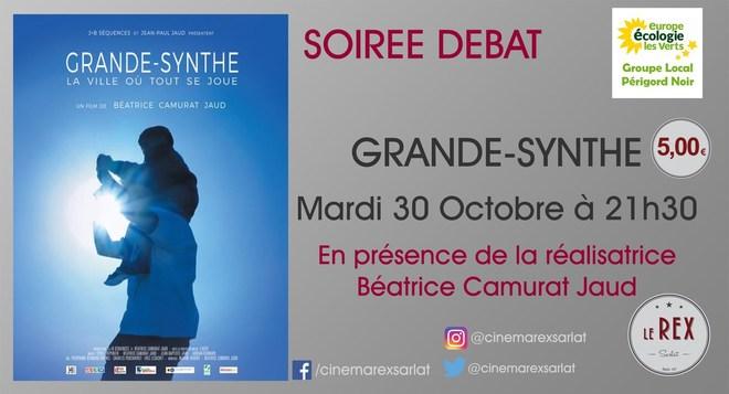 Soirée Débat GRANDE SYNTHE // Mardi 30 Octobre à 20h30