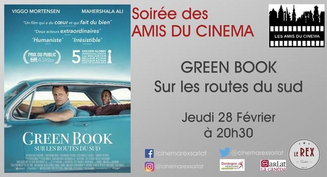 Amis du Cinéma : GREEN BOOK sur les routes du sud // Jeudi 28 Février à 20h30