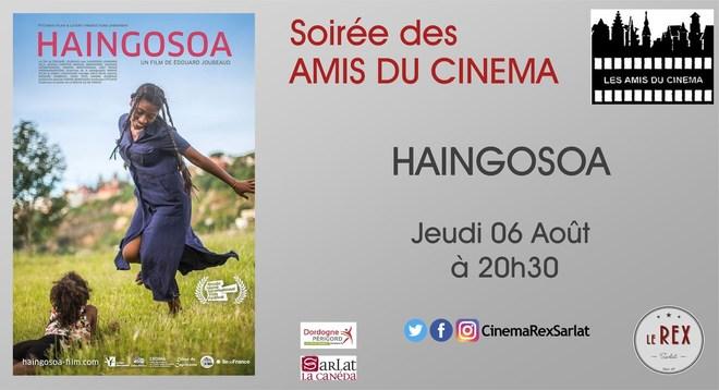 Soirée Amis du Cinéma: HAINGOSOA//Jeudi 06 Août à 20h30
