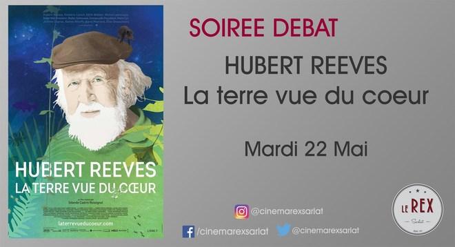 Avant première HUBERT REEVES - La terre vue du coeur // Mardi 22 Mai à 20h