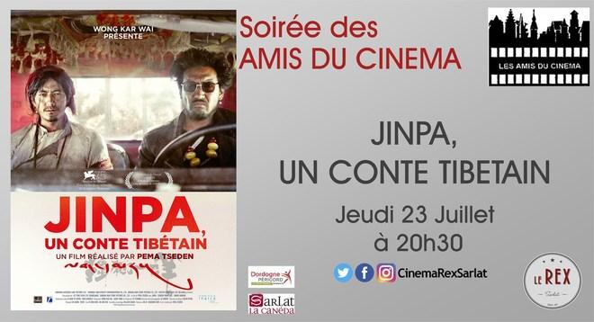 Soirée Amis du Cinéma: JINPA, UN CONTE TIBETAIN //Jeudi 23 Juillet à 20h30
