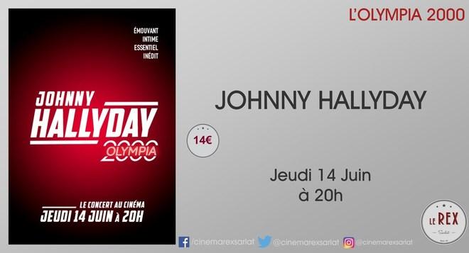 Concert - JOHNNY HALLYDAY // Jeudi 14 Juin à 20h