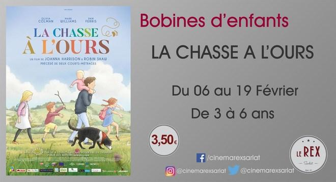 Bobines d'Enfant: LA CHASSE A L'OURS // Du mercredi 06 au Mardi 19 Février