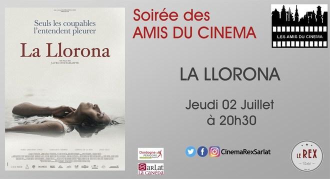 Soirée Amis du Cinéma:LA LLORONA // Jeudi 26 Mars à 20h30