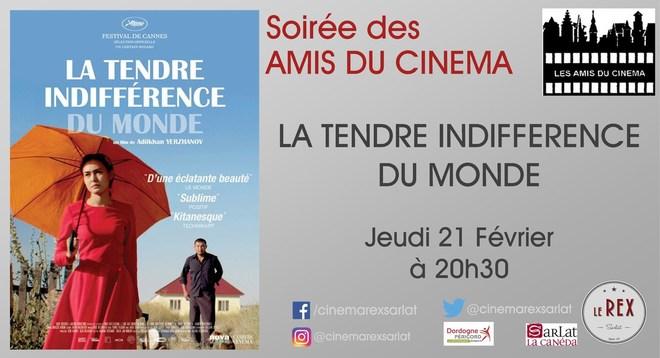 Amis du Cinéma : LATENDRE INDIFFERENCE // Jeudi 21 Février à 20h30