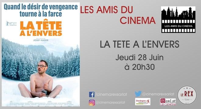 Soirée Amis du Cinéma: LA TETE A L ENVERS // Jeudi 28 Juin à 20h30