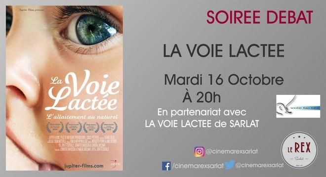 Débat, Rencontre: LA VOIE LACTEE / Mardi 16 Octobre à 20h