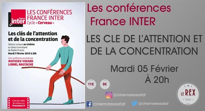 Conférence: LES CLE DE L'ATTENTION ET DE LA CONCENTRATION // Mardi 05 Février à 20h