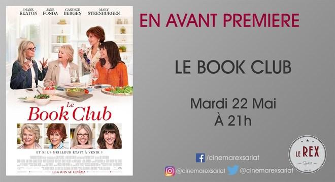 Avant Première LE BOOK CLUB // Mardi 22 Mai à 21h
