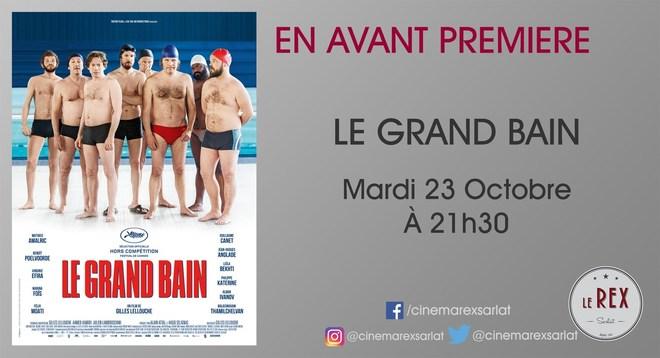 Avant Première LE GRAND BAIN // Mardi 23 Octobre à 21h30