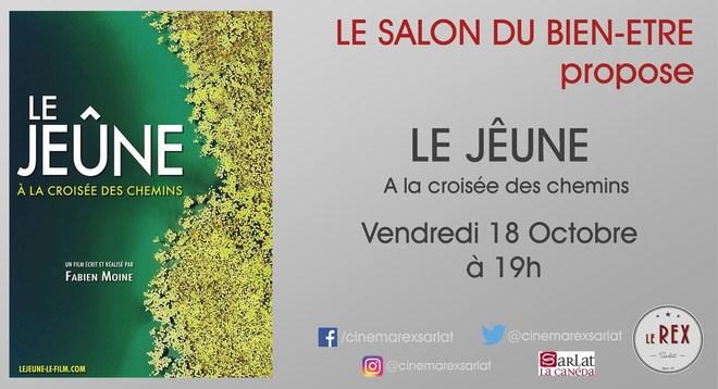 Le salon du Bien-Etre propose: LE JEÛNE, A LA CROISEE DES CHEMINS // Vendredi 18 Octobre à 19h