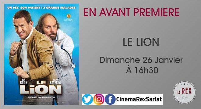 Avant Première: LE LION // Dimanche 26 Janvier à 16h30