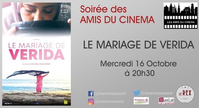 Soirée Amis du cinéma: LE MARIAGE DE VERIDA // Mercredi 16 Octobre à 20h30