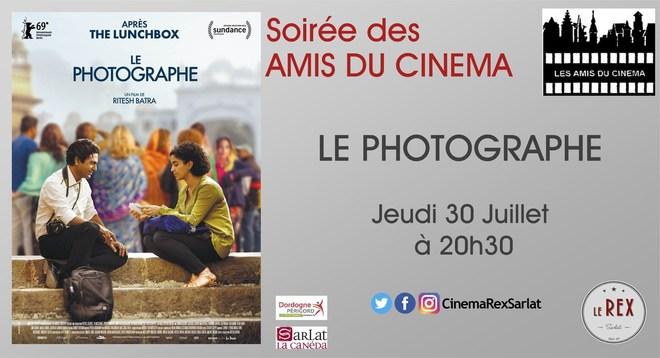 Soirée Amis du Cinéma: LE PHOTOGRAPHE //Jeudi 30 Juillet à 20h30