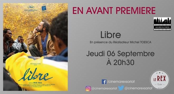 Amis du Cinéma - LIBRE // Jeudi 6 Septembre à 20h30