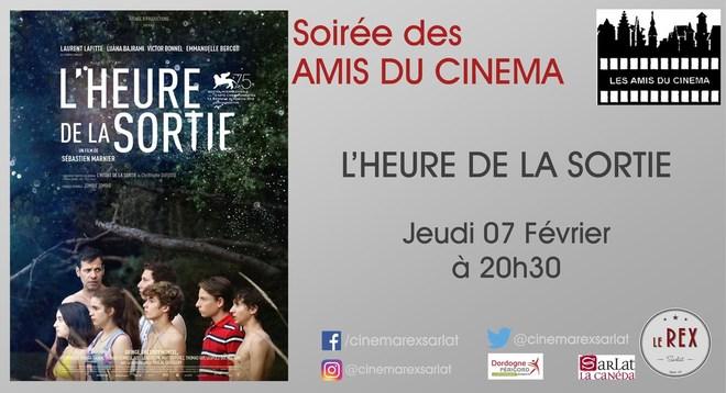 Amis du Cinéma : L'HEURE DE LA SORTIE // Jeudi 07 Février à 20h30