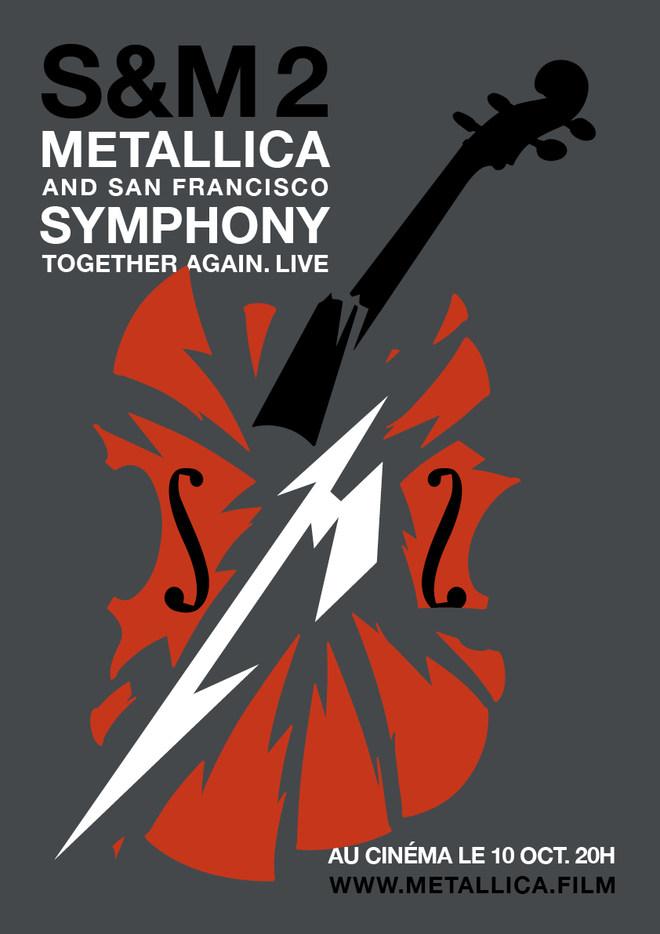 Concert: METALLICA andSan Francisco SYMPHONY // Jeudi 10 Octobre à 20h