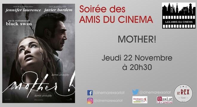 Amis du Cinéma - MOTHER // Jeudi 22 novembre à 20h30