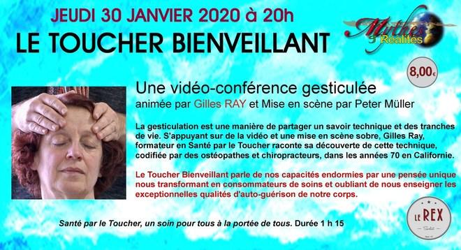 Mythes et Réalités: LE TOUCHER BIENVEILLANT // Jeudi 30 Janvier à 20h