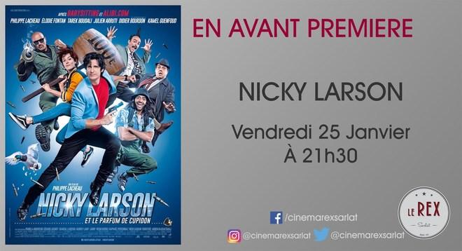 Avant Première NICKY LARSON et le parfum de Cupidon // Vendredi 25 Janvier à  21h30