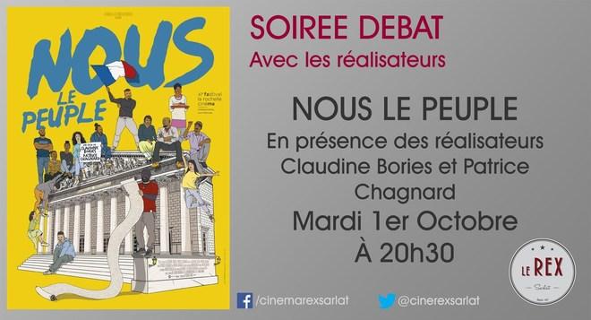 Rencontre: NOUS LE PEUPLE // Mardi 1 Octobre à 20h30