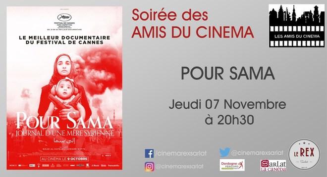 Soirée Amis du cinéma:POUR SAMA // Jeudi 07 Novembre à 20h30