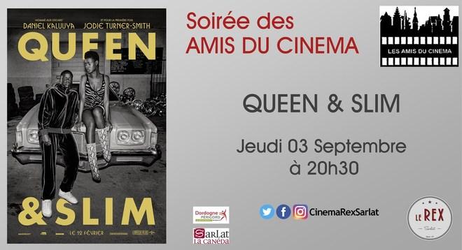 Soirée Amis du Cinéma: QUEEN & SLIM// Jeudi 03 Septembre à 20h30